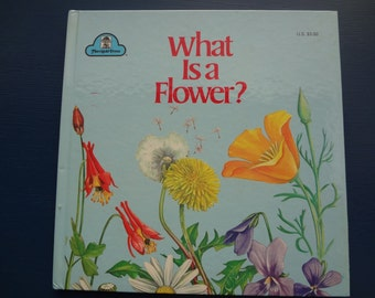 Vintage Story Book:  What Is A Flower?
