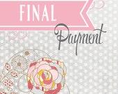 Final Payment....Jenna