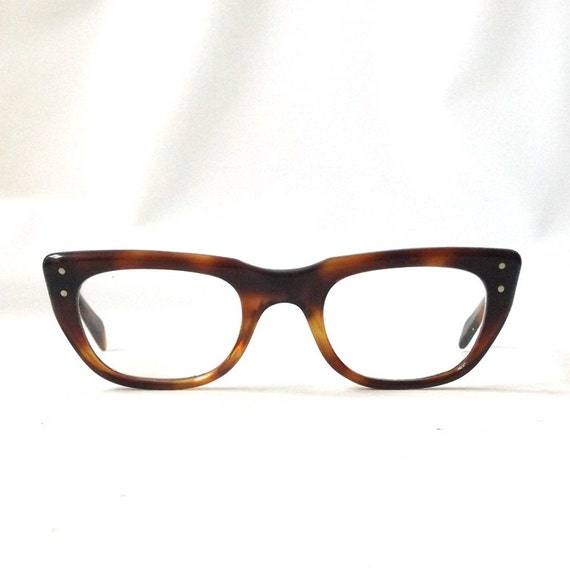 vintage 1950s eyeglasses prescription by RecycleBuyVintage