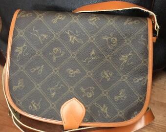 Vintage Equestrian Inspired Crossbody/Shoulder Bag