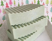 Sugared Spruce Goats Milk Soap Bar by WickedSoaps