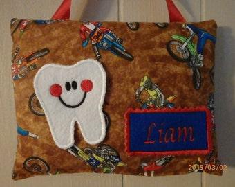 DIRT BIKES Tooth Fairy Pillow