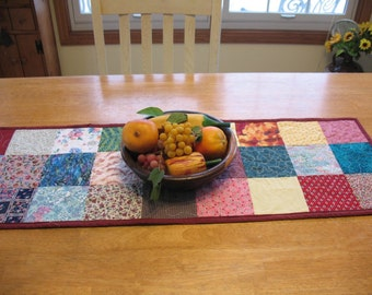 Quilted Cotton Table Runner