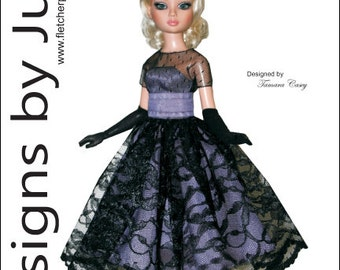 "Prom Date Pattern for 16"" Ellowyne Wilde Dolls Tonner"