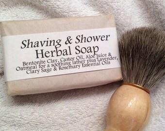 Handmade Herbal Shaving Soap