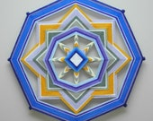 Sunny Skies, an 18 inch Ojo de Dios, in stock
