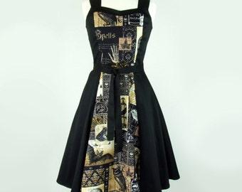 Lolita Full Circle Edgar Allen Poe Dress /  Nevermore Dress