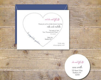 Hearts, Heart Invites, Bridal Shower Invitations, Bridal Showe, Engagement Invitations, Wedding, Affordable Weddings, Simple Wedding