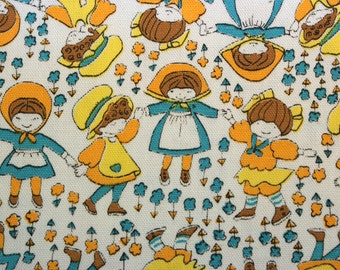 Vintage 1970's Children's Fabric