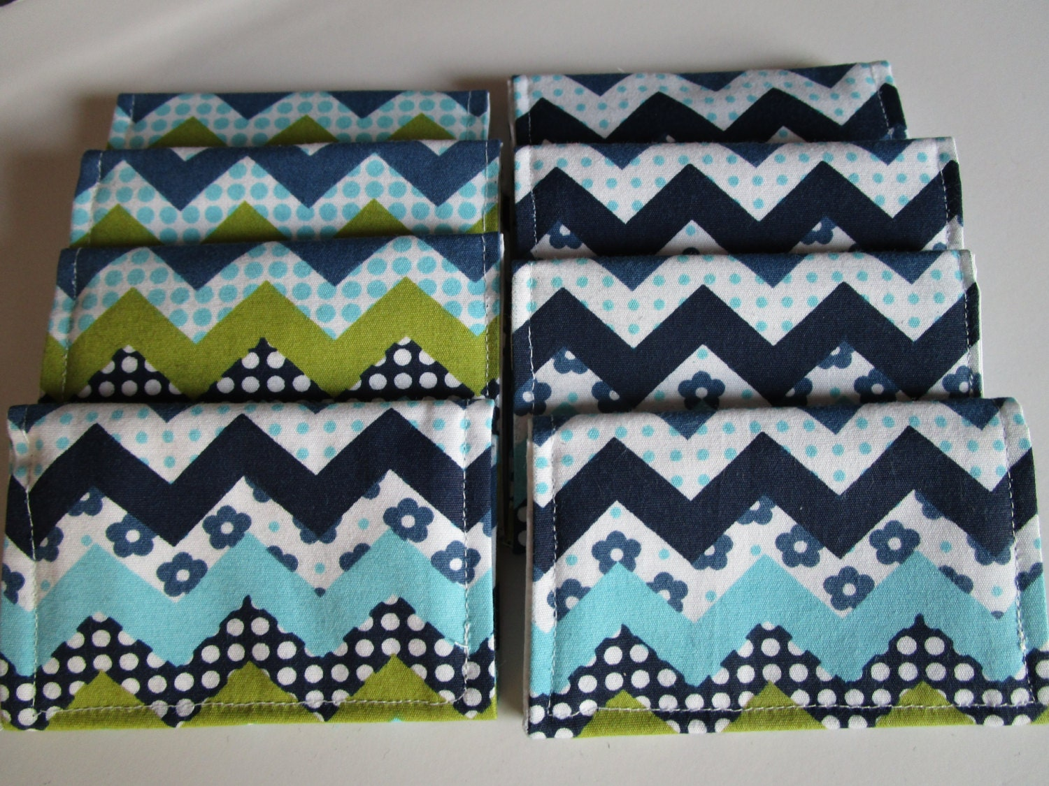 Sale chevron credit card wallet flowers and polka dots loyalty sale chevron credit card wallet flowers and polka dots loyalty card holder business reheart Image collections