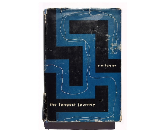 "Alvin Lustig book jacket design, 1943. ""The Longest Journey"" by E.M. Forster."