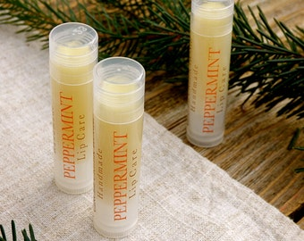 Peppermint Lip Balm - All Natural