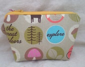 The Great Outdoors Makeup Bag
