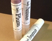 3 Pack--TINTED LIP BALM w/ Sea BuckThorn oil --4 colors available--Free Shipping
