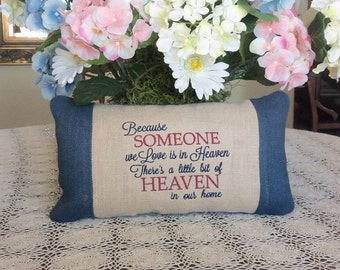 Popular items for memorial pillow on etsy for Things to make out of a loved one s clothing