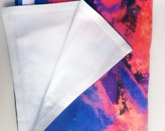Soft Fleece Blanket with Original Art Illustration