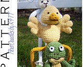 INSTANT DOWNLOAD : Springtime Friends II  (3 pack) Crochet Patterns