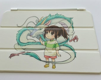 spirited away smart cover for iPad 2,3,4, mini and ipad air
