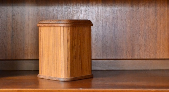Vintage Mid Century Teak Kalmar Designs Ice Bucket