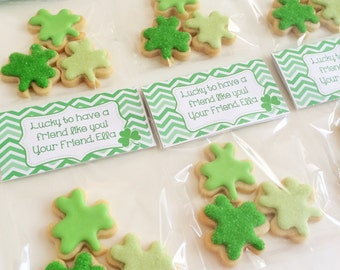 St. Patrick's Day Cookie Favors (36 favors)