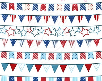 patriotic bunting clipart patriotic banners red white blue bunting banner clip art