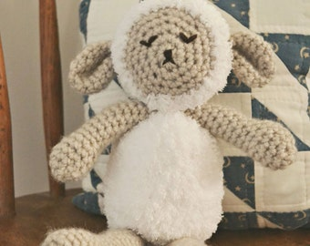 Sheep Lamb Stuffie Lovey Prop