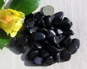 10 Stunning Rainbow Obsidian Crystal Tumblestones, Black Crystals, Chakra Crystals, Meditation Stone, Virgo, Libra, Grief Crystals, Destress