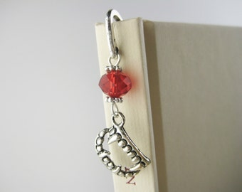 Vampire Bookmark - Gothic Gift For Him or Her - Vampire Teeth Fangs - Halloween Wedding Guest Book Mark - Gothic Bookmark