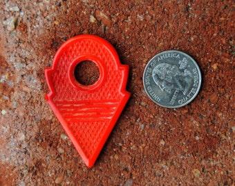 Tuareg Amulet: Red/Orange