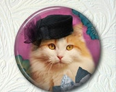 Cat Pocket Mirror Cat in a Hat  Buy 3 Get 1 Free 442