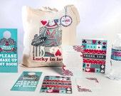 The Lindsay Custom Tote Bag and Destination Welcome Kit