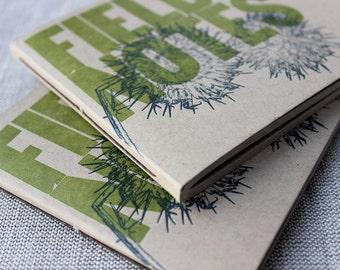 Field Notes Letterpressed, Hand-bound Notebook