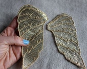 GOLD Wings Sew-on applique