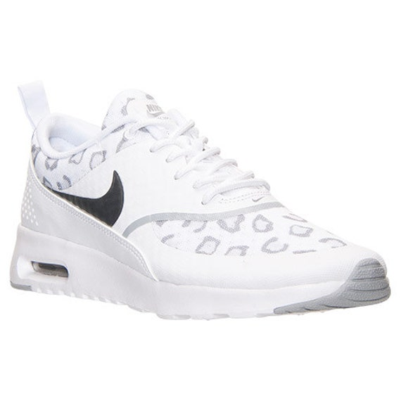 nike air max thea print shoes white cheetah white wolf