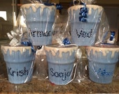 Personalized Ceramic Ice Cream Bowl  Cup Kids Party Favors - 1st Birthday Frozen theme Christening Communion Sweet 16