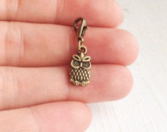 Tiny Owl Charm