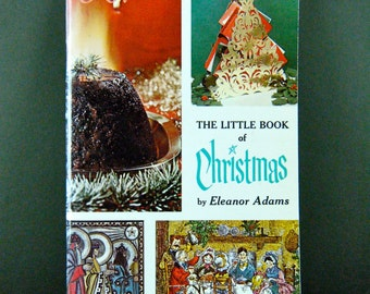 "Vintage ""The Little Book of Christmas"", The Amy Vanderbilt Success Program for Women, 1960s Values, Great Retro Illustrations, Mad Men Style"