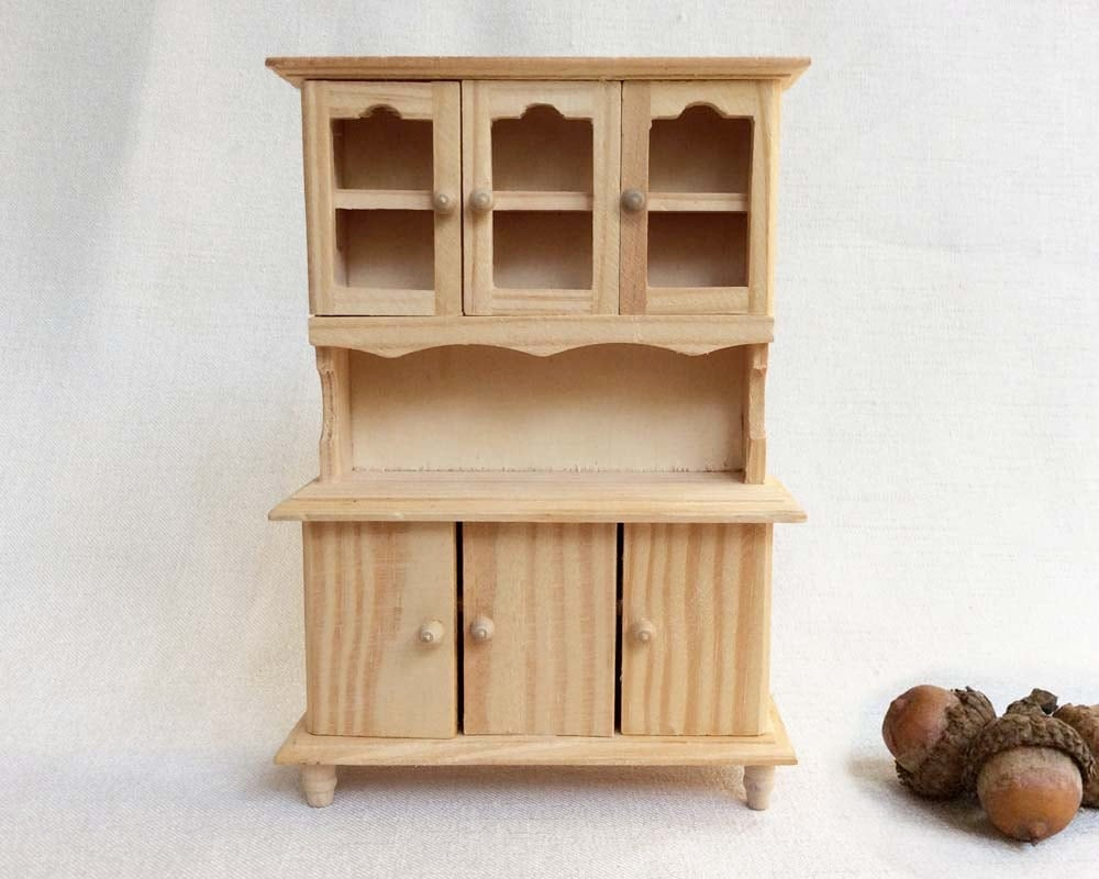 Unfinished Dollhouse Furniture