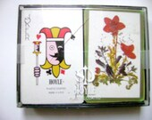 Vintage Playing Cards  Double Set of Hoyle Playing Cards, Deck of Cards, Games