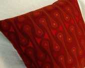Design 9297 Scarlet Josef Hoffmann  Pillow Cover - Mid Century Modern -  Maharam Fabric Cover - Many sizes available