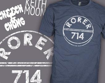 RORER 714 Quaalude Shirt - Cheech and Chong Movie Shirt - Famous Keith Moon T-Shirt
