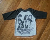 Adventures in Babysitting baseball tee toddler and youth sizes tshirt 3/4 lenth sleeve 80s movie t shirt Keith Coogan