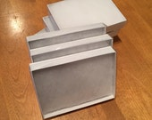 Gift Box - Jewelry Box - White with Clear Top