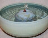 "Cat Fountain - Pet Fountain - Indoor Fountain - 10 Inch Diameter ""Willow"""