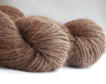 Alpaca yarn QUITO SILVER BROWN Alpaca yarn 100gr/3.5oz Co.No.14