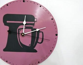 Kitchen Aid Clock Purple Olyteam