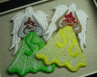 Guardian Angel for Dogs Applique or Ornament