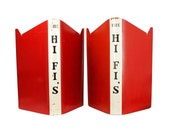 pair of vintage the hif-fis band music stands