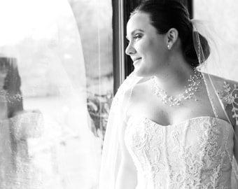 Collar de perlas collar nupcial boda joyería joyería nupcial de Dama de honor regalos ocasiones especiales hechos a mano