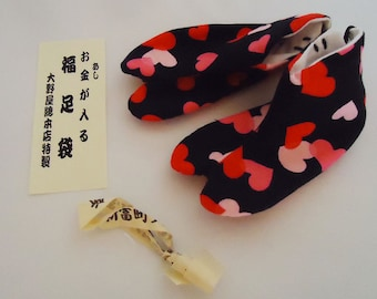 The Japanese Money Lucky Tabi Shoes.80s